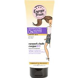 Energie Fruit Shampooing caramel et huile d'argan BIO le tube de 250 ml