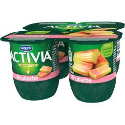 Activia - Lait fermenté au bifidus rhubarbe