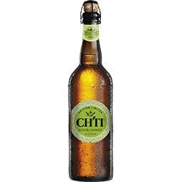 Ch'ti Ch'ti Bière de garde houblonnée la bouteille de 75 cl