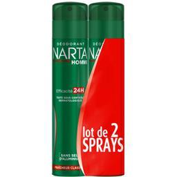 Narta Narta Homme - Déodorant 24h fraîcheur classique