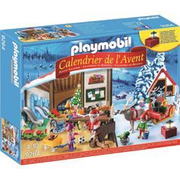 Playmobil® Calendrier de l'avent fabrique du père Noël le calendrier