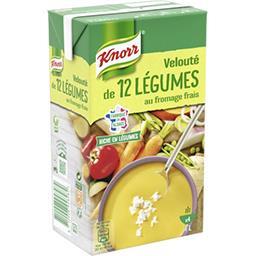 Velouté de 12 légumes au fromage frais