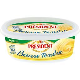 Beurre tendre demi-sel
