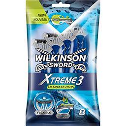 Wilkinson Wilkinson Sword Xtreme 3 - Rasoirs Ultimate Plus les 8 rasoirs