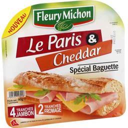 Jambon Le Paris Cheddar spécial baguette
