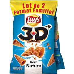 Bénénuts 3D Bugles - Biscuits apéritif goût nature