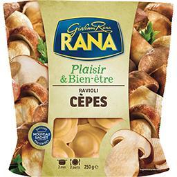 Giovanni Rana Rana Plaisir & Bien-être - Ravioli cèpes le sachet de 250 g