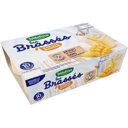 Dessert lacté banane mangue, de 10 à 36 mois