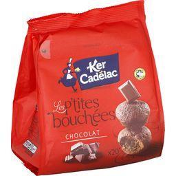 P'tites bouchées chocolat KER CADELAC, 20 pièces, 200g