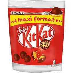 Nestlé Nestlé Chocolat KitKat - Billes chocolat au lait cœur céréales le paquet de 400 g