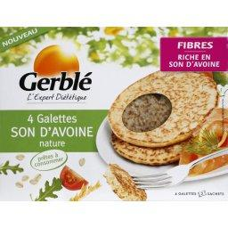 Galettes au son d'avoine nature