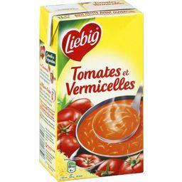 Soupe tomates et vermicelles