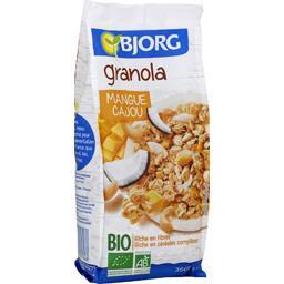 LU Bjorg Granola mangue cajou BIO