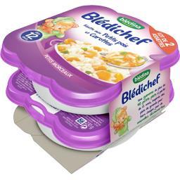 Blédichef - Risotto aux petits pois et carottes, dès...