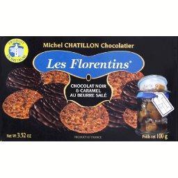 Les Florentins chocolat noir et caramel au beurre salé