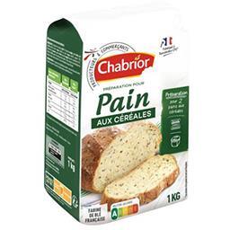 Préparation pour pain aux céréales