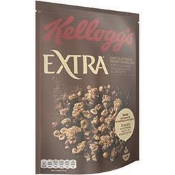 Kellogg's Kellogg's Extra - Céréales chocolat noir et noisettes grillées le sachet de 500 g
