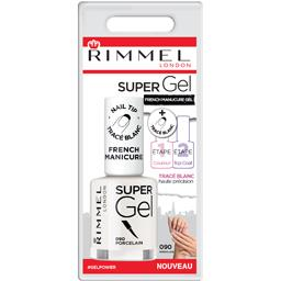 Rimmel London Vernis à ongles Super Gel French Manucure 090 Porcel... le flacon de 12 ml
