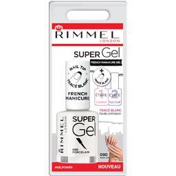 Rimmel London Vernis à ongles Super Gel French Manucure 090 Porcel... le flacon de 12 ml