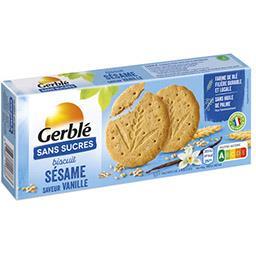 Gerblé Gerblé Biscuits sésame saveur vanille sans sucres le paquet de 12 - 132 g