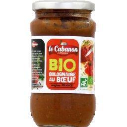 Sauce BIO Bolognaise à la viande de bœuf
