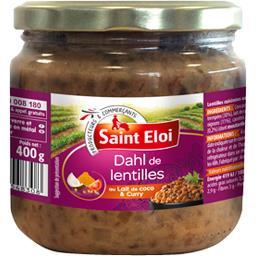 Dahl de lentilles au lait de coco & curry