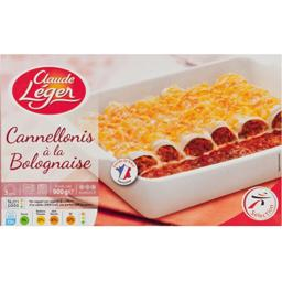 Cannelloni à la bolognaise, barquette micro-ondable