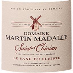 Saint Chinian Domaine Martin Madalle vin Rouge 2017