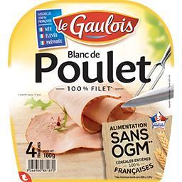 Le Gaulois Blanc de poulet 100% filet