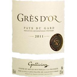 Vin de pays du Gard Grès d'Or vin rouge