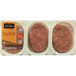 Jean Rozé Steaks haché de veau 15% la barquette de 6 - 600 g