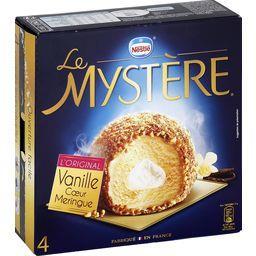 Glace Le Mystère L'Original vanille cœur meringue