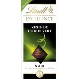 Lindt Lindt Excellence - Chocolat noir zeste de citron vert la tablette de 100 g
