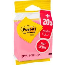 Post-it Cube « eco » rose 76 x 76 mm