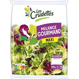 Les Crudettes Les Crudettes Mélange Gourmand maxi le sachet de 320 g