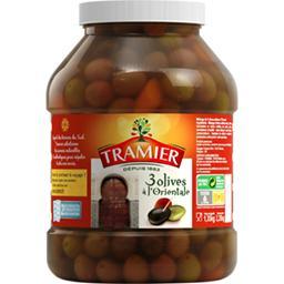 Mélange de 3 olives recette à l'orientale