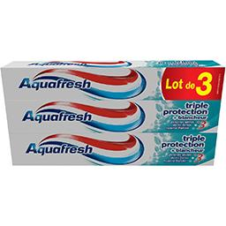Aquafresh Dentifrice au fluor triple protection + blancheur