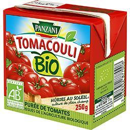 Panzani Panzani Tomacouli - Purée de tomates BIO la brique de 250 g
