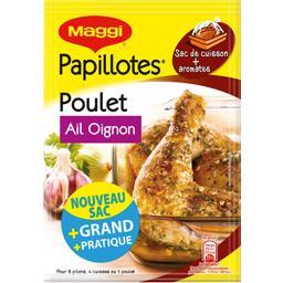 Maggi Maggi Papillotes - Assaisonnement poulet ail oignon le sachet de 36 g