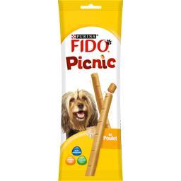 Picnic au poulet pour chiens