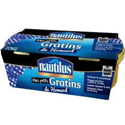 Nautilus Mes Petits Gratins de homard les 2 verrines de 90 g