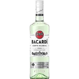 Bacardi Bacardi Rhum Carta Blanca la bouteille de 70 cl