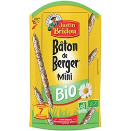 Justin Bridou Justin Bridou Mini Bâton de Berger BIO le sachet de 70 g