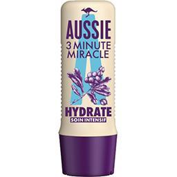 Aussie Aussie Soin intensif 3 minutes hydrate, pour cheveux secs La bouteille de 250ml