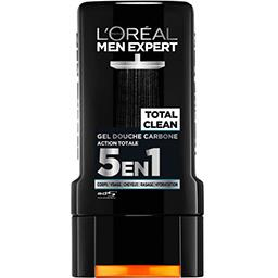 Gel douche carbone Total Clean action totale 5 en 1