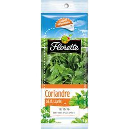 Florette Florette Coriandre le sachet de 11 g