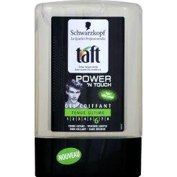 Taft - Gel coiffant tenue ultime 6, toucher souple, Power'n touch