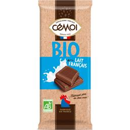 Chocolat lait français BIO