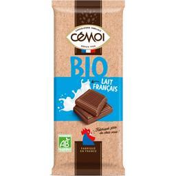 Cémoi Cémoi Chocolat lait français BIO la tablette de 100 g