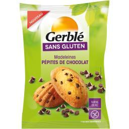 Sans Gluten - Madeleines pépites de chocolat